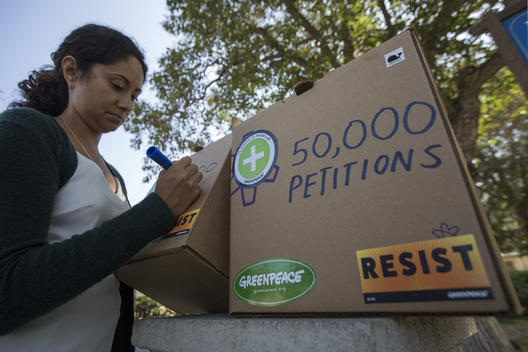 Trader Joe's Headquarter Petition Delivery in California