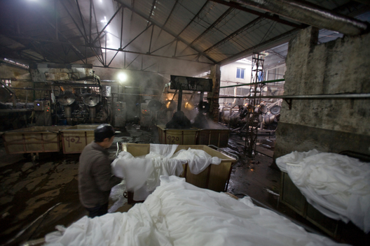 Dyeing Factory in Shaoxing