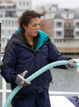 Stowing Mooring Lines
