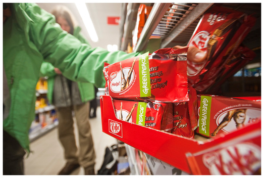 Kitkat Labelling Action in Germany