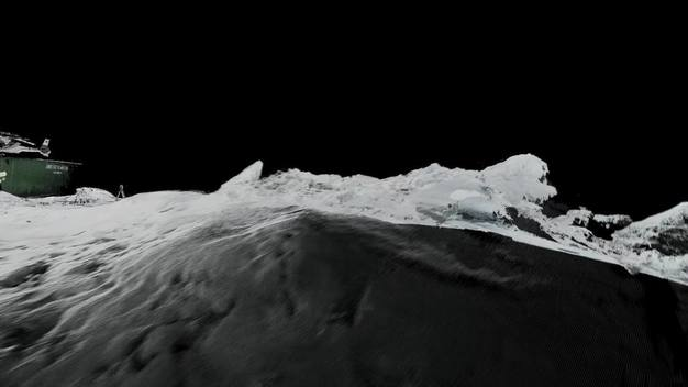 3D Model of Ice Floes