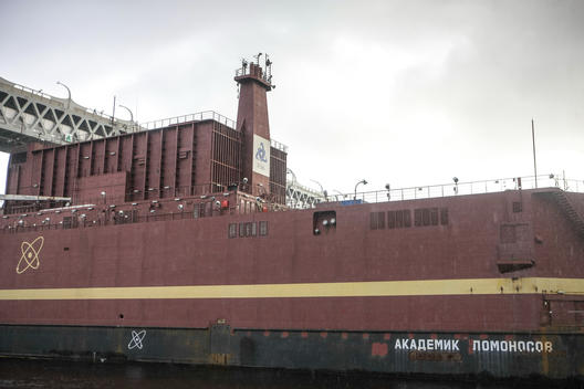 World's First Purpose-built Floating Nuclear Power Plant Bound for the Arctic