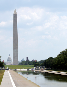 Reflecting Pool in Washington being Drained due to Parasites