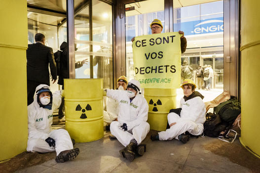 Action against Engie in Brussels