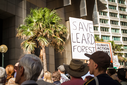 Snap Protest against Maules Creek Coal Mine in Australia