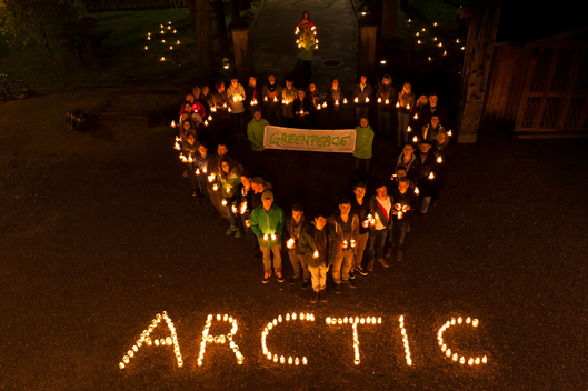 'I Love Arctic' Day of Action in Germany, Loerrach