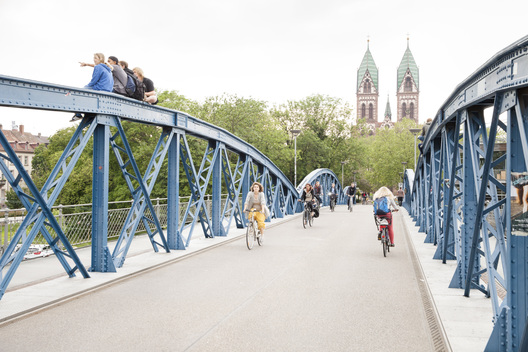 Bridge for Cyclists in Freiburg