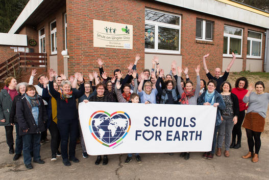 """Schools for Earth"" at the Wingster Wald Primary School in Wingst"