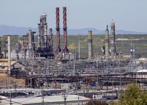 Chevron Richmond Refinery in the US