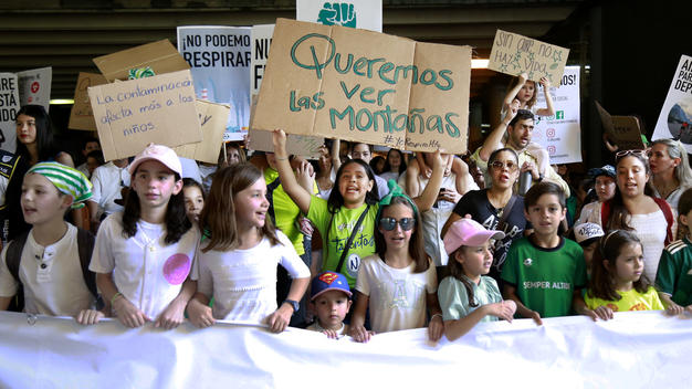 """Yo Respiro Monterrey"" Strikes for the Climate in Mexico"