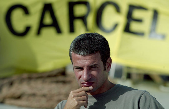 Daniel Rizzotti at Press Conference after Arrest in Spain