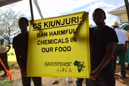 No More Poison in Kenya's Food Protest