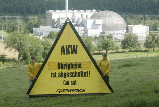 Action against Nuclear Power Plant Obrigheim