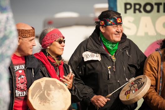 Oil Free Salish Sea Protest