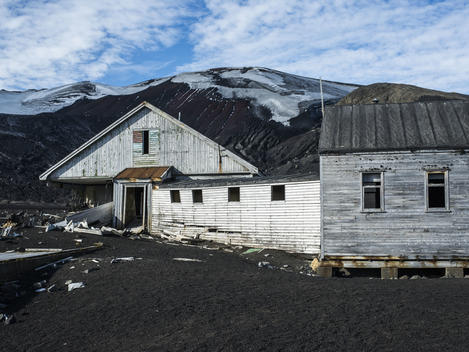 Remains of a Whaling Station on Deception Island