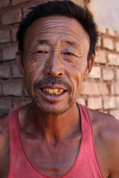 Local Man in China