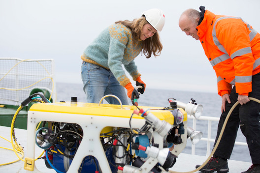 ROV Operations off Svalbard