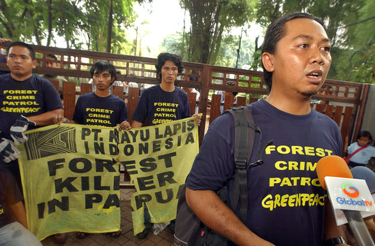 Forests Action at Kayu Lapis in Indonesia