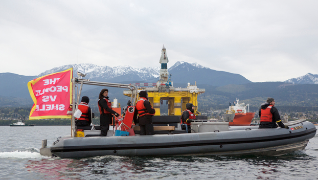 Polar Pioneer Arrives in Port Angeles