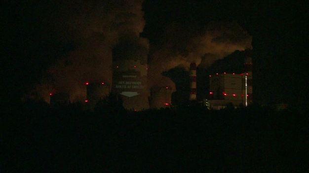 COP19 Projection at Belchatow Coal Power Station - Various Languages
