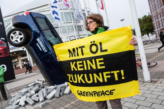 Climate Protest at Opening of IAA in Frankfurt