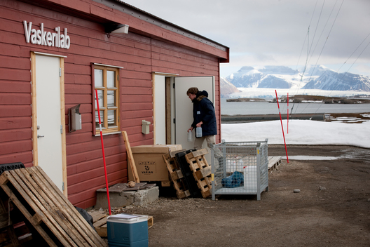 Science Laboratory in Svalbard