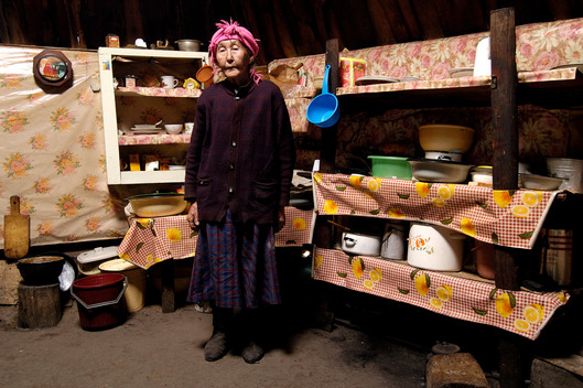 Elderly Woman in Siberia