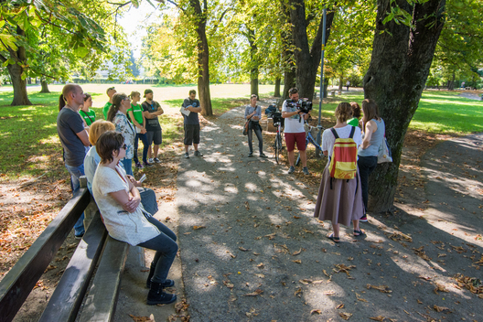 Walks on the Footsteps of Climate Change in Maribor