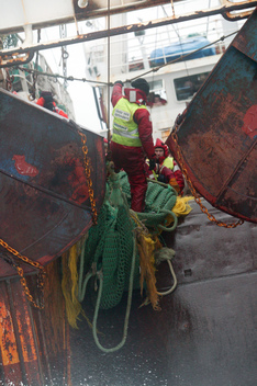 Occupation of Fishing Vessel Anuva