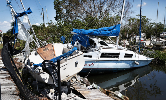 Hurricane Irma Hits the Florida Keys