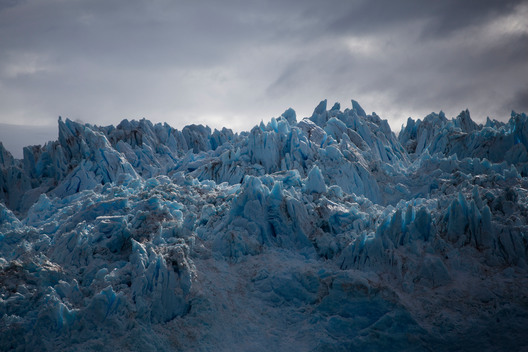 Amalia Glacier Retreating in Patagonia