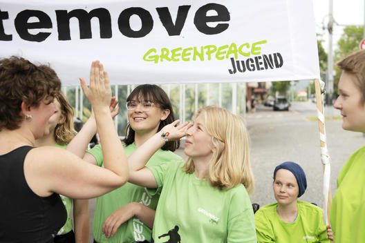 "Youth Group ""Climatemove Flashmob"" in Germany"