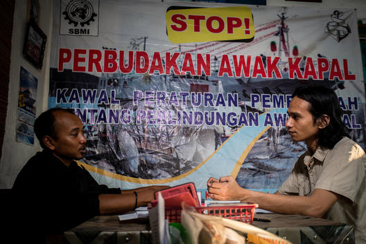 Former Migrant Fishermen in Indonesia