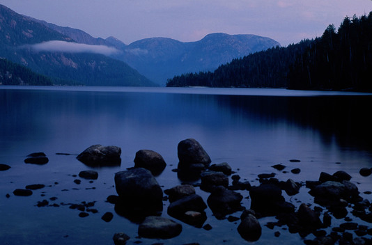 Ellerside Lake in Great Bear rainforest