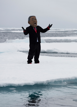 Heads of State at the Arctic Ice Edge