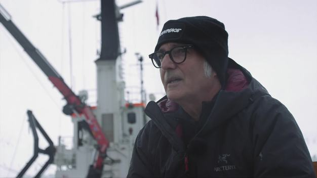 Composer and Pianist Ludovico Einaudi Performs in the Arctic Ocean - Interview (English Version)
