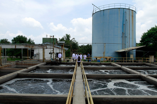 Toxic Wastewater in Sumedang Textile Factories