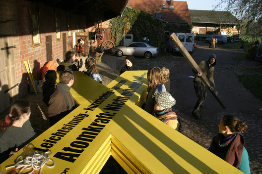 Action against Nuclear Energy in Germany
