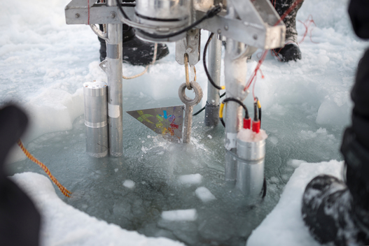 'Flag for the Future Lowered to North Pole Seabed