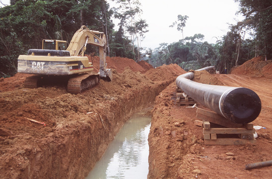 Construction of Oil Pipeline in Cameroon