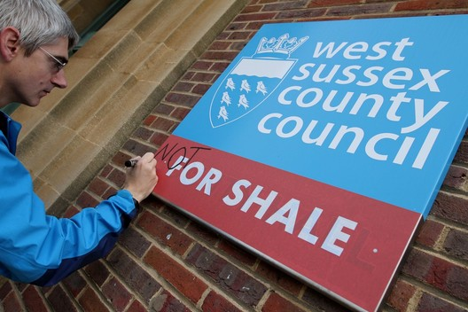''Not for Shale' Action at West Sussex County Council