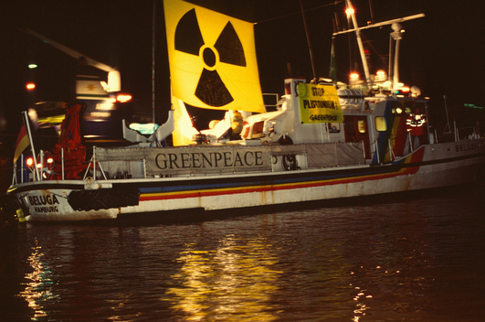 Action against Nuclear Transport in Germany