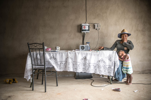 Solar Power Helps Families in South Africa