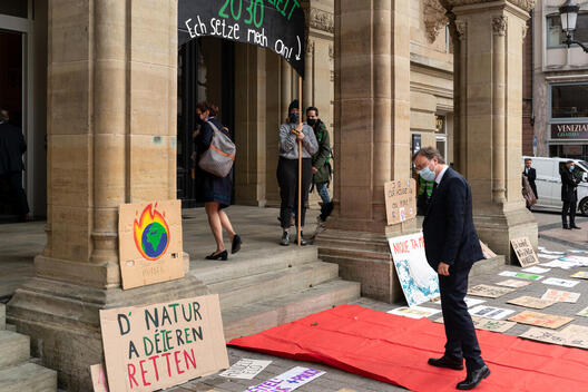 Climate Care Uprising - Message to the Prime Minister in Luxembourg