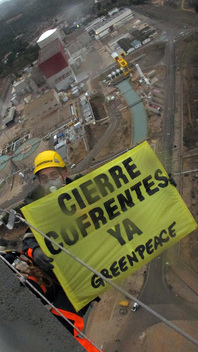Cofrentes Nuclear Power Plant Action