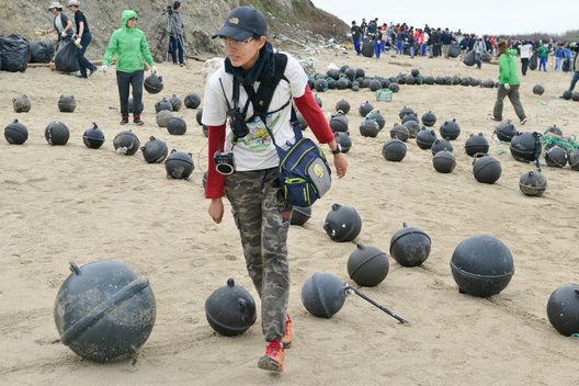 Beach Clean-up Activity in Penghu, Taiwan
