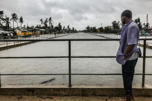 Tropical Cyclone Eloise Hits Mozambique