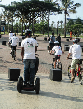 Save the Arctic Ice Ride in Durban