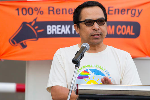 Cyclists for Renewable Energy Event in Songkhla