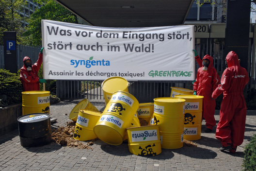 Toxics Action Waste Returned to Sender Syngenta